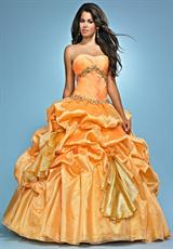 2012 Organza Landa Pageant Dress AQ03